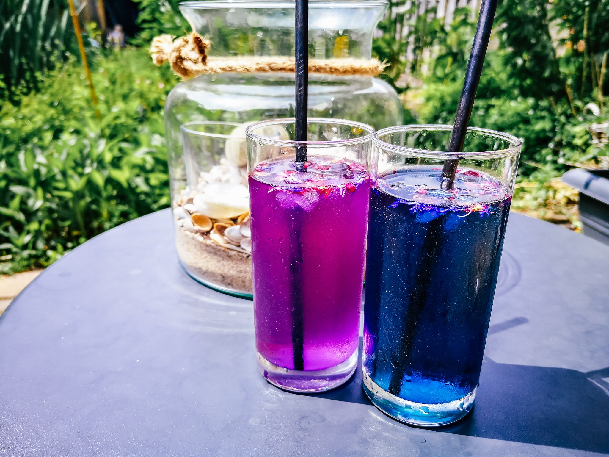 Magical Iced Butterfly Pea Tea